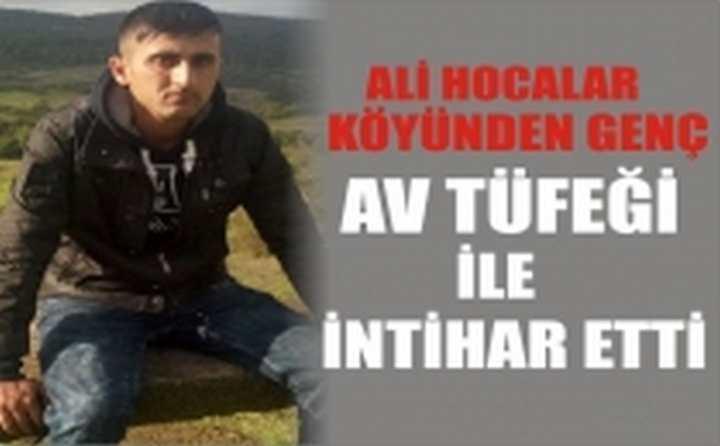 Ali Hocalar Köyünde İntihar