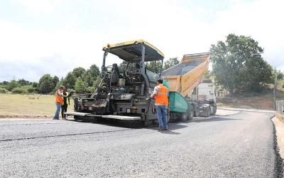 Asfalt ekipleri İlimtepe'de