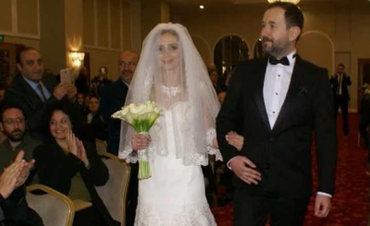 Atilla ve Sayar ailesinin mutlu günü