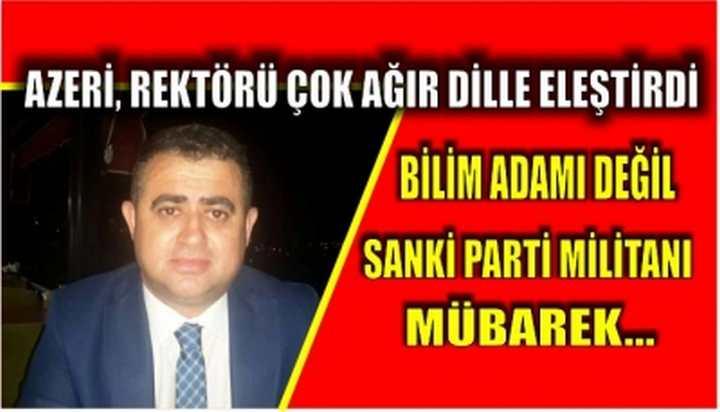 Azeri, Ağır Dille Eleştirdi