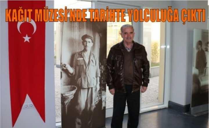 Babasıyla Beraber SEKA'da Çalışan Hasan Özer
