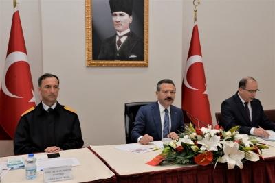 Bağımlılıkla Mücadele İl Koordinasyon Kurulu Toplantısı, Sayın Valinin Başkanlığında Gerçekleştirildi.