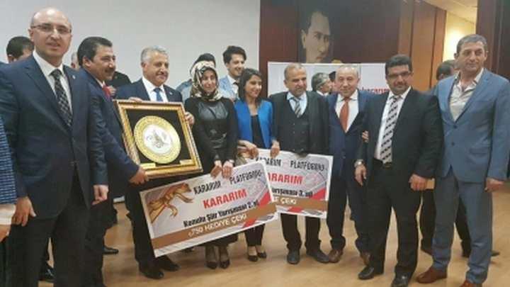 Bakan Arslan 'Kararım Evet Platformu'nun Düzenlediği Programa Katıldı