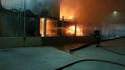 Balçık Köyü'nde Yangın!