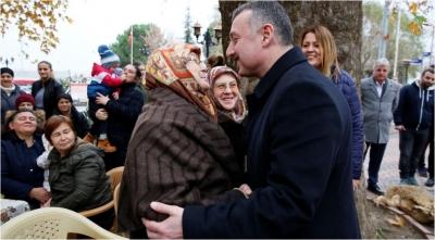 Başkan Anneler Gününü kutladı