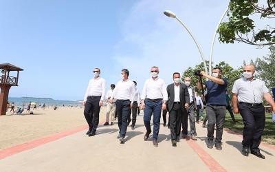 Başkan Büyükakın, ''Kandıra sahilleri yaza hazır''