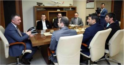 Başkan Büyükakın, ''Kocaeli markasına FİFA Hakemi yakışır''