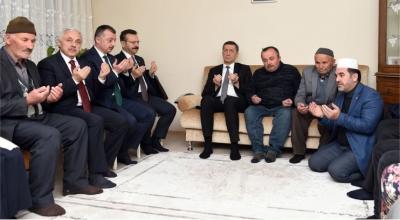 Başkan Büyükakın, Kuyucu ailesini ziyaret etti