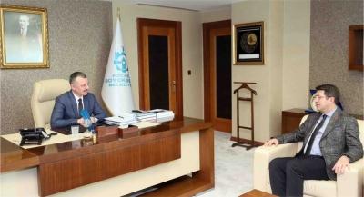 Başkan Büyükakın, Saadet Partisi il yönetimini konuk etti