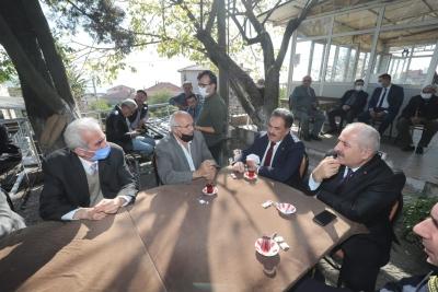 Başkan Büyükgöz ve Kaymakam Güler  Muallimköy Sakinlerini Dinledi