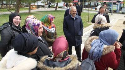 Başkan Büyükgöz'den Eskihisar Turu