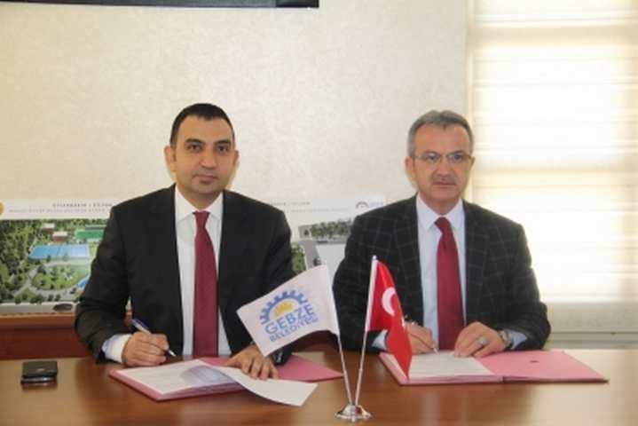 Başkan Köşker İmzayı Attı Gebze-Silvan Proje İşbirliği