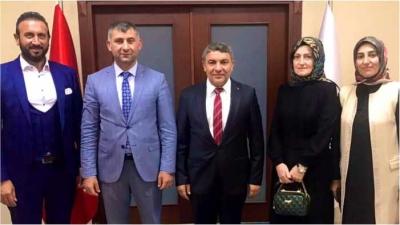 Başkan Şayir'e davet