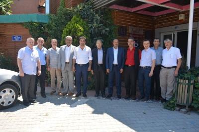 Başkan Toltar, Muhtarlarla bir araya geldi.