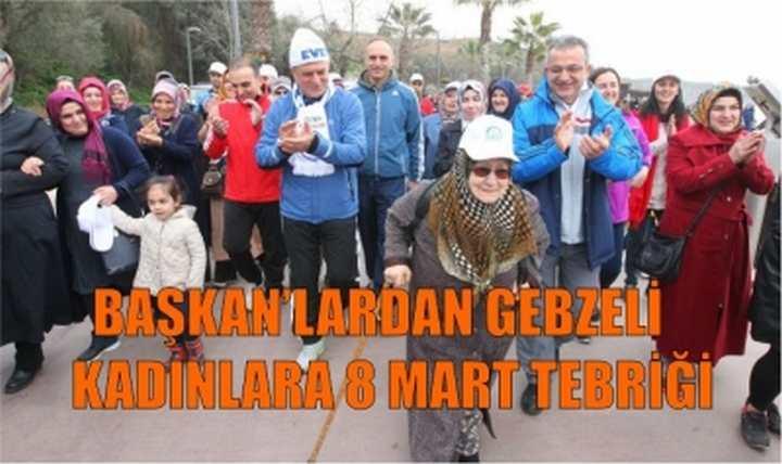 Başkan'lardan Gebze'de Kadınlar Günü etkinliği