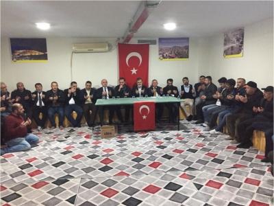 Bayburt'lular dan  İdlip Şehitleri için kurranı kerim tilaveti