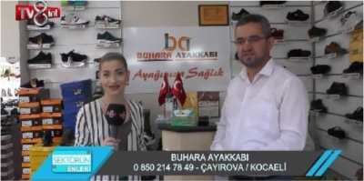 BUHARA AYAKKABI TV8'E KONUK OLDU