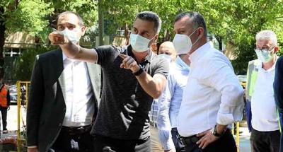Büyükakın, İzmit sokaklarında vatandaşlarla buluştu