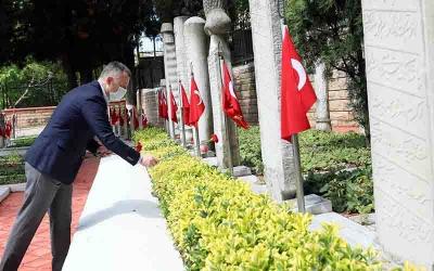 """Büyükakın, """"Türkiye olarak tarihi bir yükselişin içindeyiz"""""""