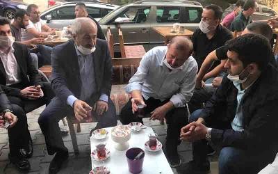 Büyükgöz'den Esnaflarla Çay Sohbetleri