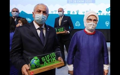 Büyükgöz'ün çevreci projeleri Gebze'ye ödül getirdi