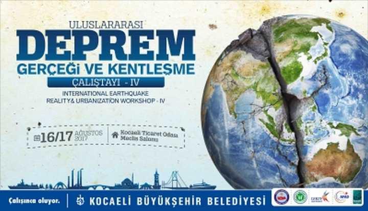 Büyükşehir'den 4. Uluslararası Deprem Çalıştayı