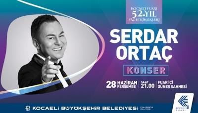 Büyükşehir'den Serdar Ortaç Konseri