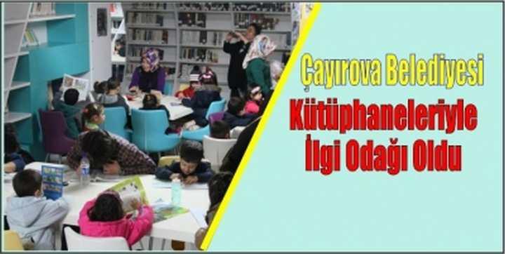 Çayırova Belediyesi Kütüphaneleriyle İlgi Odağı Oldu