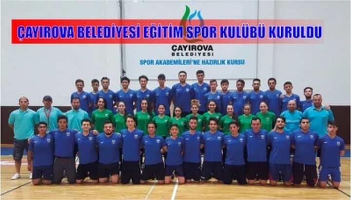 Çayırova Belediyesi Eğitim Spor Kulübü Kuruldu,
