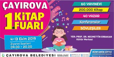 Çayırova Belediyesi 1. Kitap Fuarı