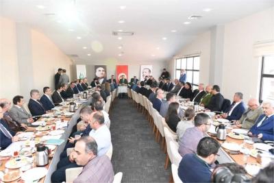 Çayırova İlçesi Muhtarlar Toplantısı Sayın Valinin Başkanlığında Gerçekleştirildi