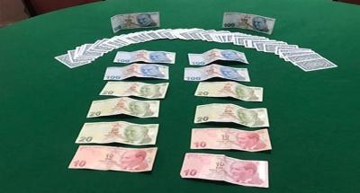 Çayırova'da kumar baskını