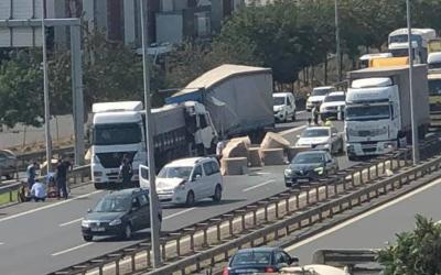 Çayırova'da zincirleme kaza