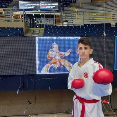 Çayırova'nın Sporcusu Avrupa 7.si Oldu !