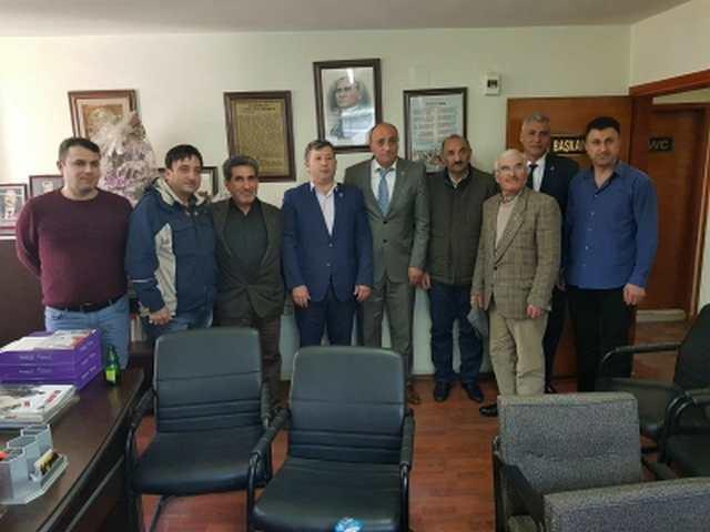 CHP GEBZE'DEN SENDİKA ZİYARETLERİ