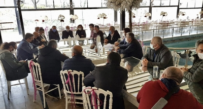 CHP'li Tahsin Tarhan Esnafın Sorunlarını Dinledi