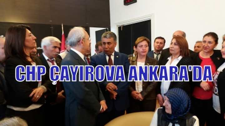 CHP'liler Kılıçdaroğlu ile görüştü