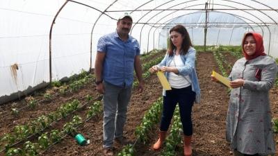 Çiftçiler ilaçsız mücadeleye teşvik ediliyor