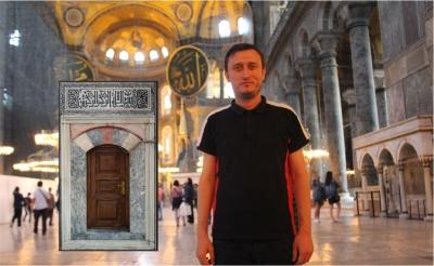 Çoban Mustafa Paşa Külliyesi'ndeki Besmeleyi Yazdı