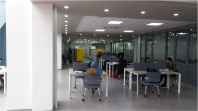 Çoban Mustafa Paşa Kütüphanesi  öğrencilerin cazibe merkezi oldu