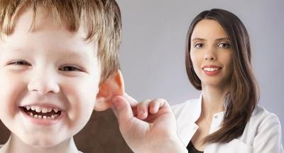 Çocuklar da Kepçe Kulak Problemine Dikkat !