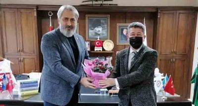 Dağcı ve tarihçi Şükür'den KASKF'ye 35. Yıl ziyareti