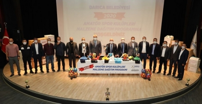 Darıca Belediyesi'nden Amatör'e önemli destek