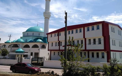 Darıca Bilal Habeşi Cami'sine malzeme yardımı