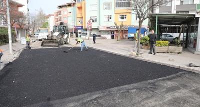 Darıca'da asfalt yama çalışmaları hız kazandı