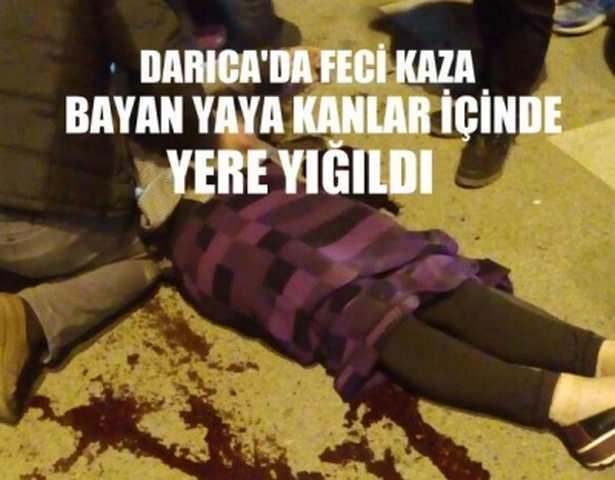 Darıca'da Feci Kaza