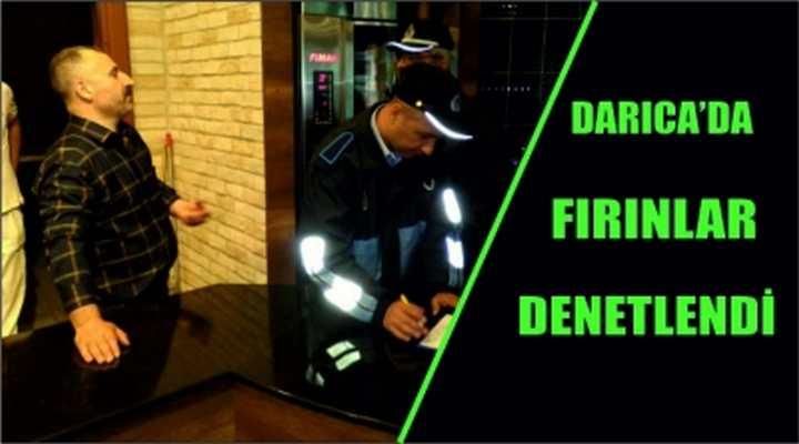 DARICA'DA FIRINLAR DENETLENDİ
