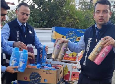 Darıca'da Sahte Şampuan Operasyonu