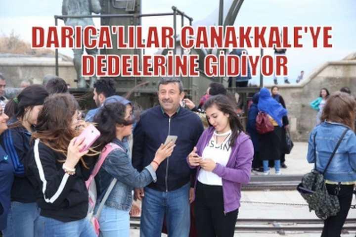 DARICA'LILAR  ÇANAKKALE'YE DEDELERİNE GİDİYOR