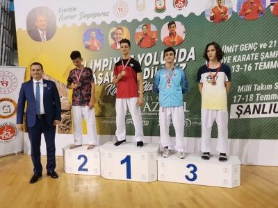 Darıca'nın Spordaki Başarısı Sürüyor